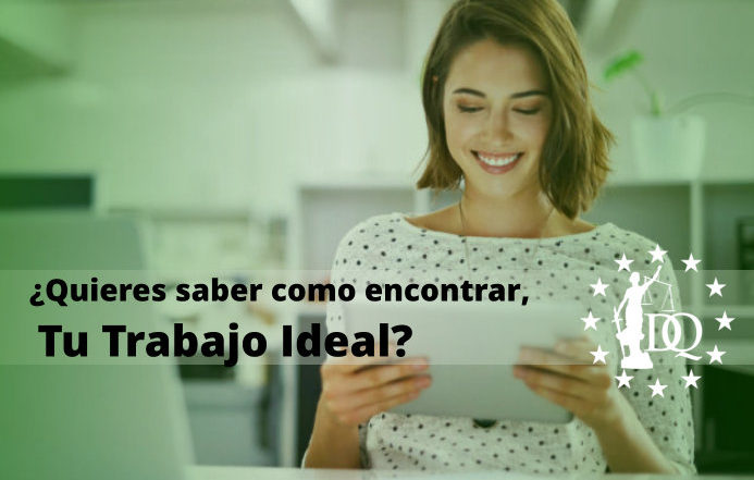 Como encontrar el trabajo ideal