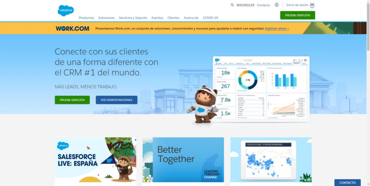 CRM Gratis SalesForce